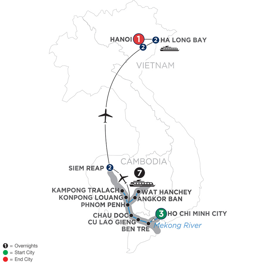 The Heart of Cambodia and Vietnam - Northbound (WIS2019)