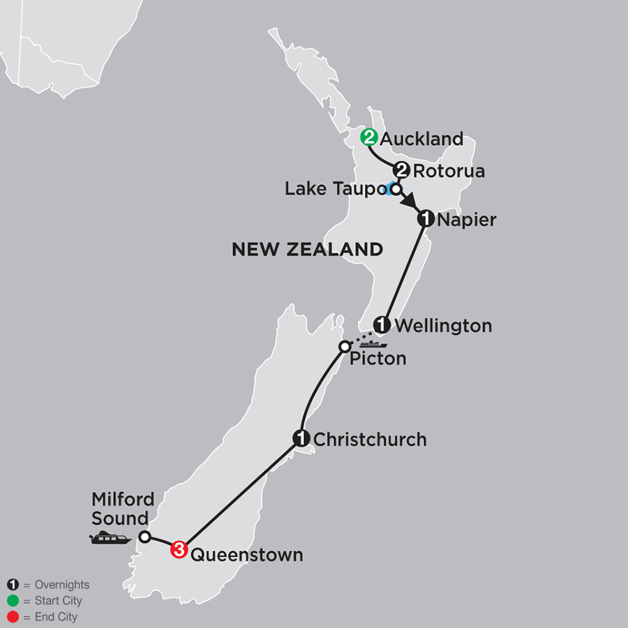 Highlights of New Zealand (33602019)