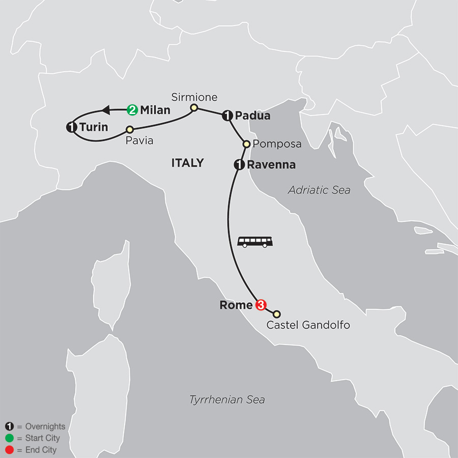 Shrines of Northern Italy and Rome FaithBased Travel (53602019)