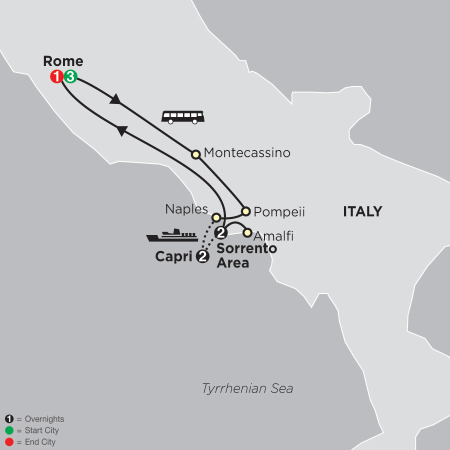 Rome, Sorrento and Capri (63102019)