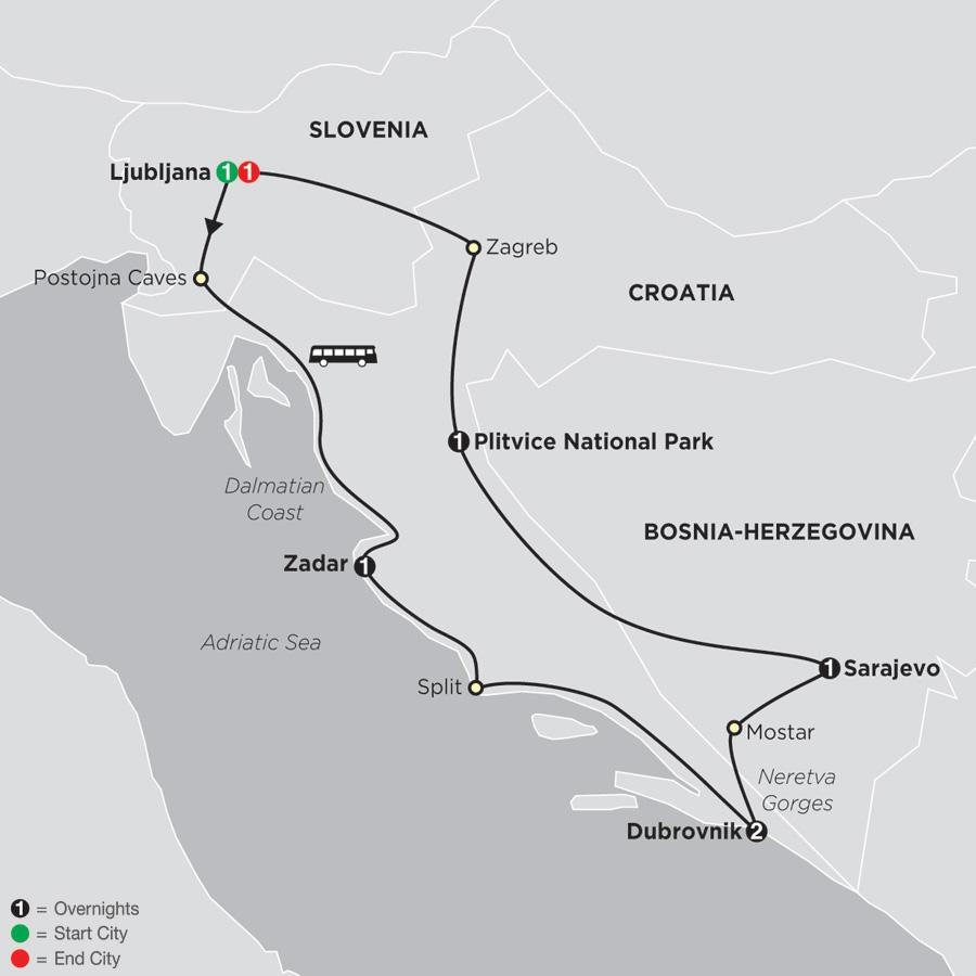 Scenic Slovenia and Croatia (67402019)