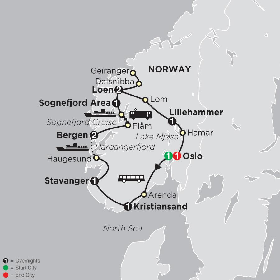 Norwegian Fjords (69202019)