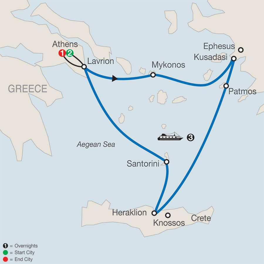Globus  Day Tour To Greece With Flights