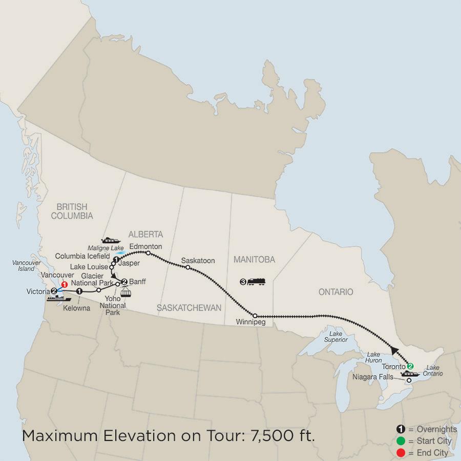 Great Canadian Rail Journey (CZ2019)
