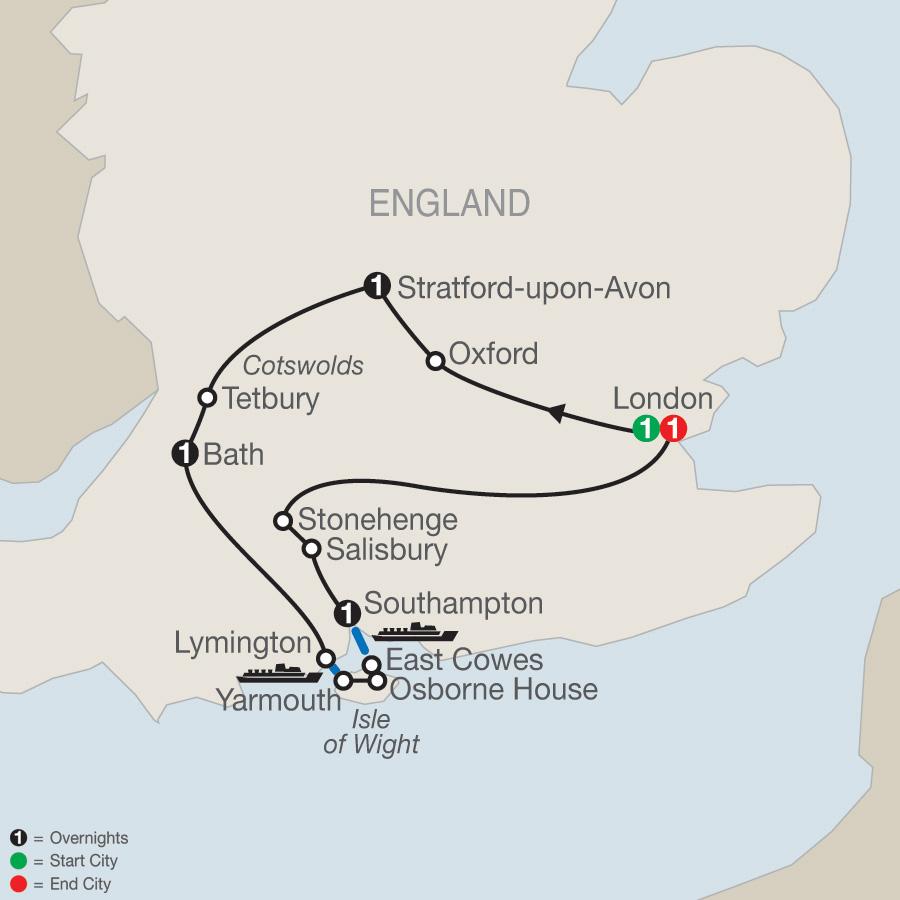 Hidden Treasures of Southern England (GV2019)