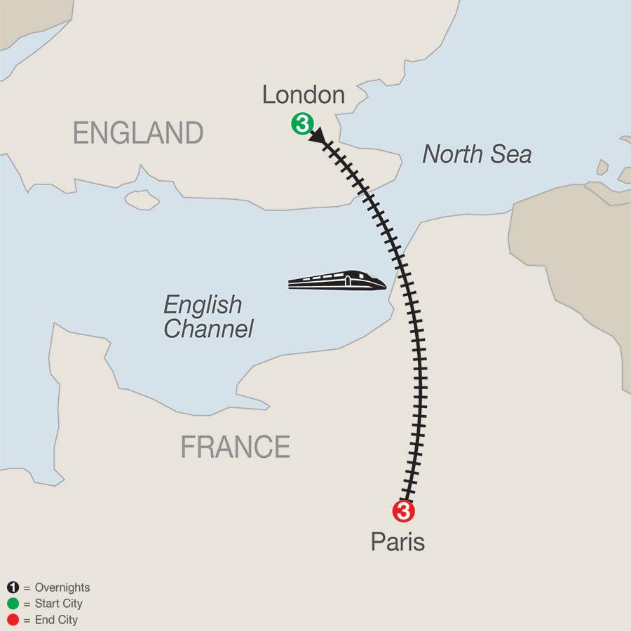 London and Paris Escape (KEA2019)
