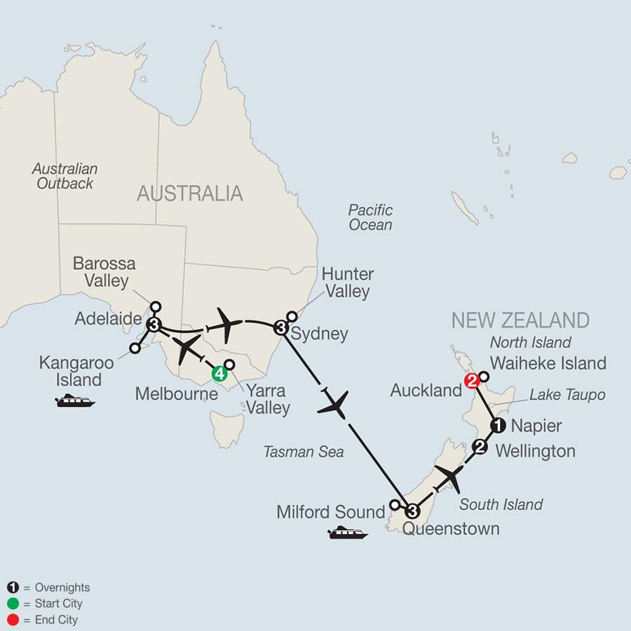 Wines of Australia and New Zealand (PW2019)