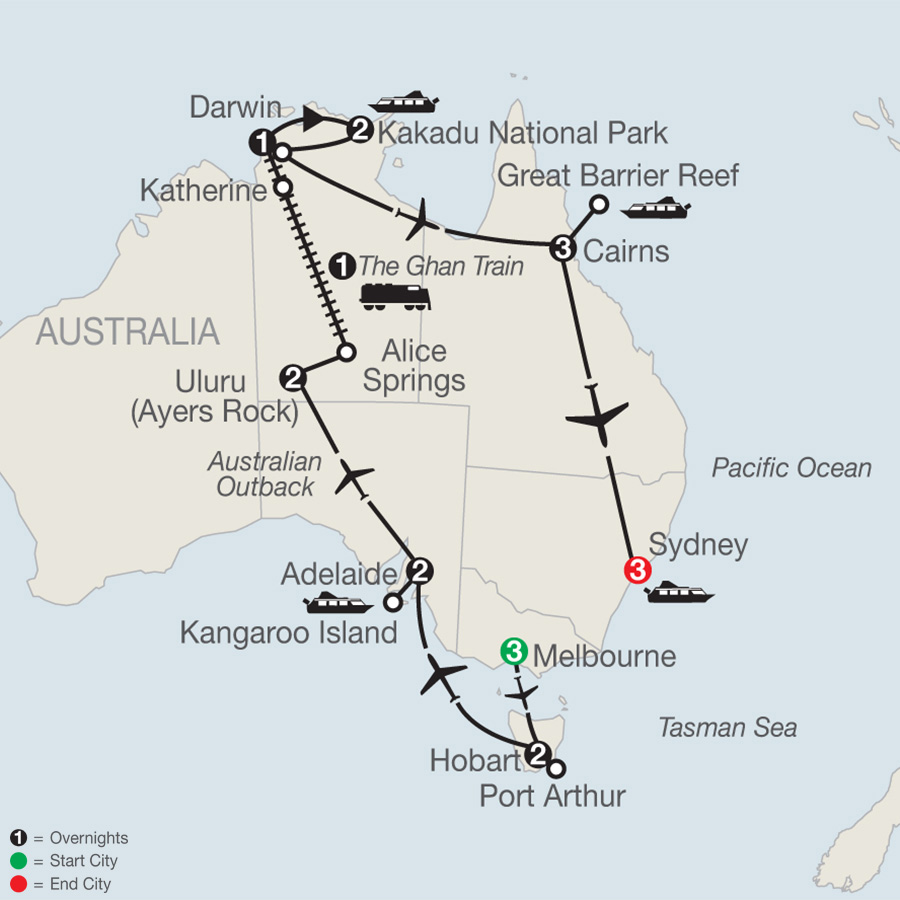 Exploring Australia (PX2019)