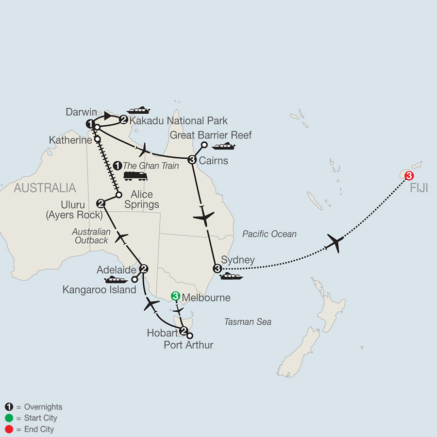 Exploring Australia with Fiji (PXE2019)