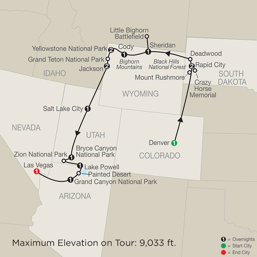 Parks and Canyons Spectacular with Denver (APQ2020)