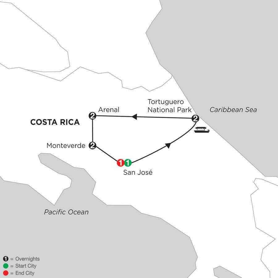 Costa Rica Wonders with Tortuguero (ILAD2019)
