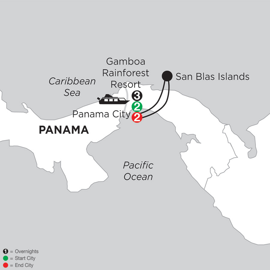 Best of Panama with San Blas Islands (ILPD2019)