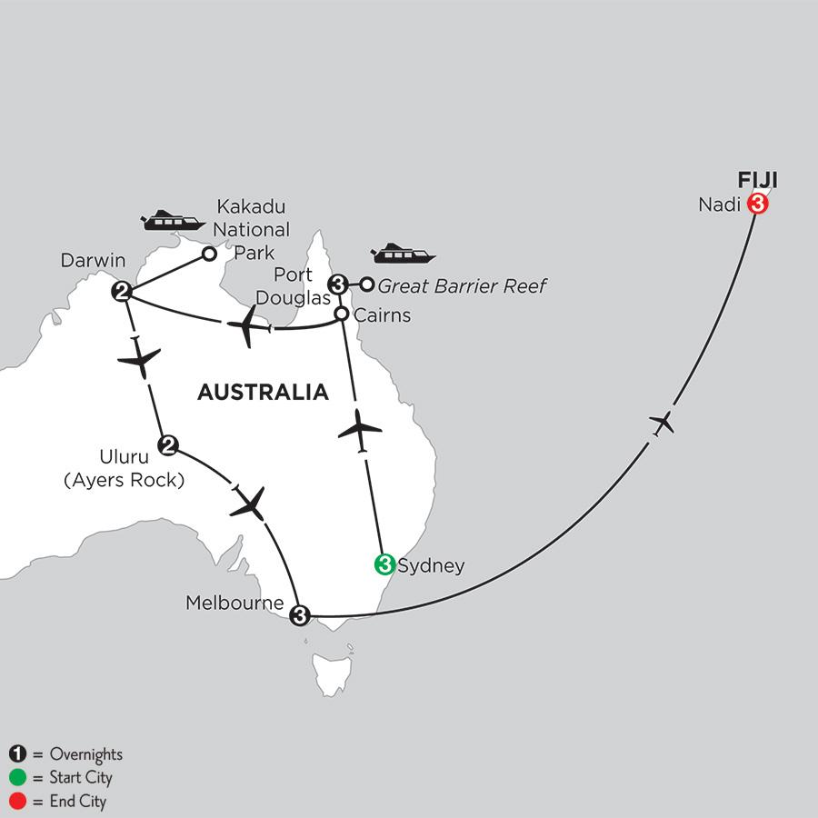 Wonders of Australia with Fiji (IPDF2019)