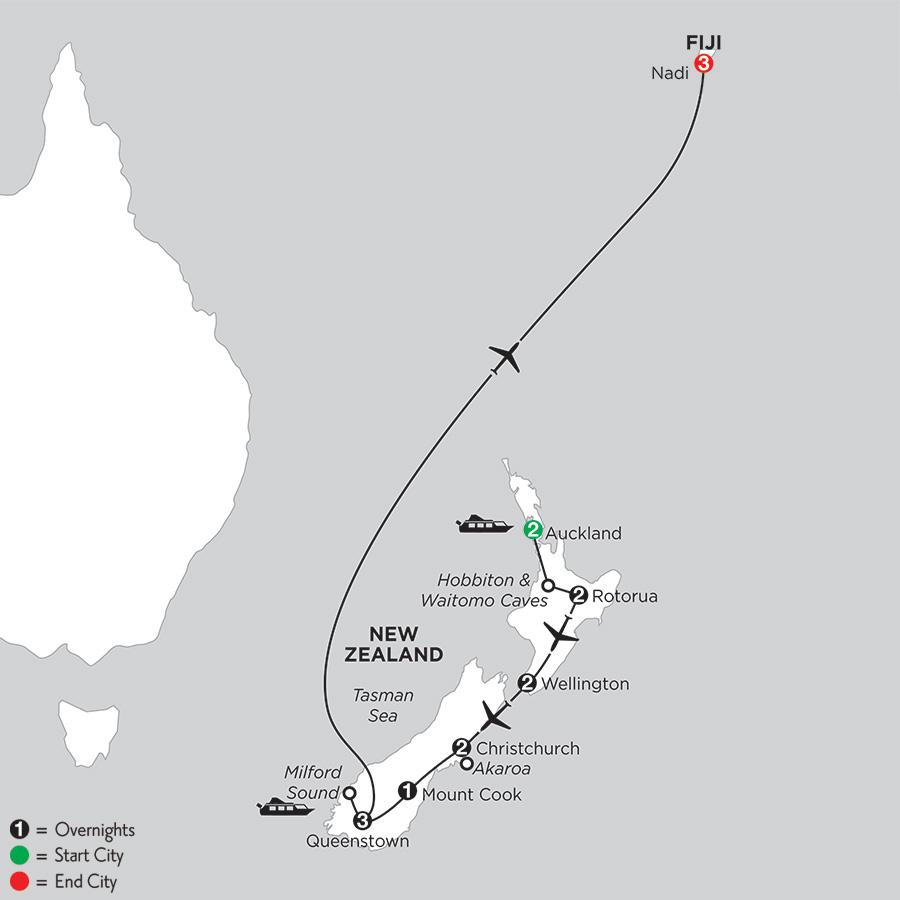 Naturally New Zealand with Fiji (IPNG2019)