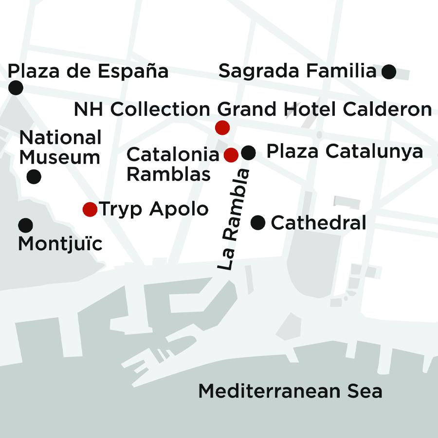 Barcelona Getaway 2 Nights (MB22019)