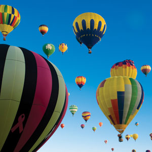 Routes Of The Old West With The Albuquerque Balloon Fiesta (AUS)