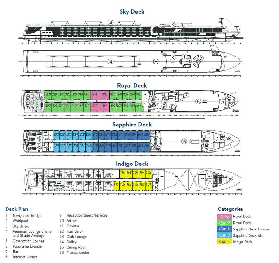Luminary Deckplan