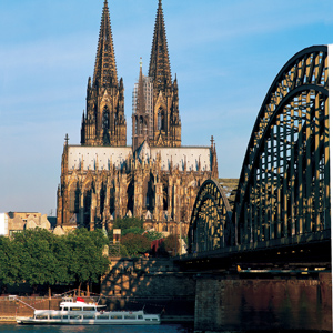 Pay a visit to Cologne's awesome gothic cathedral