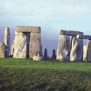 The prehistoric Stonehenge located in England