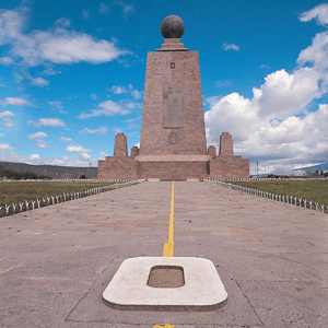 The Middle of the World located in Quito, Ecuador