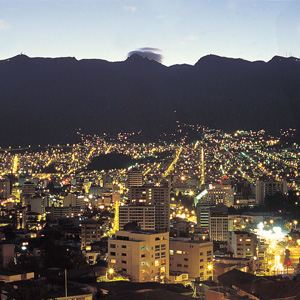 Quito, the capital of Ecuador in South America