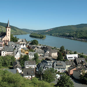 The beautiful Rhine Valley