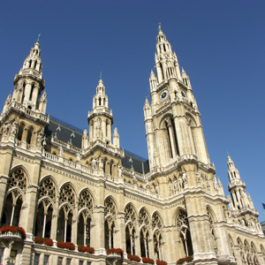 The Vienna City Hall