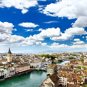 Zurich is the largest city in Switzerland