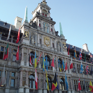 Antwerp's Grote Markt is still the heart of the old city