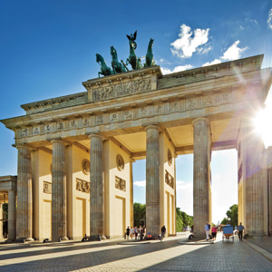The Brandenburg Gate is one of the most well-known landmarks of Berlin and Germany