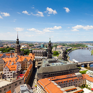 Dresden, the capital of Saxony