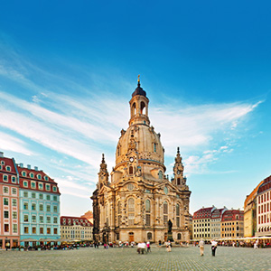 Dresden was long hailed as the Jewel Box because of its baroque city center overflowing with grand architecture