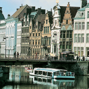 Visit the lovely town of Ghent in Belgium