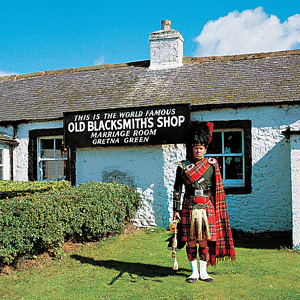An old blacksmiths shop at Gretna Green