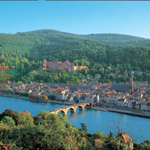 Heidelberg near the River Rhine