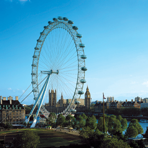 The London Eye, also known as the Millennium Wheel