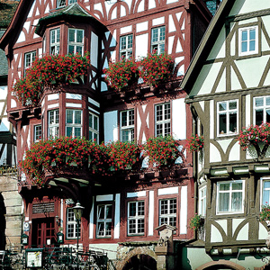 Miltenberg claims the oldest hotel and restaurant in Germany