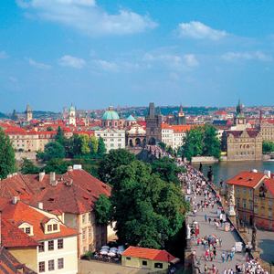 The Czech capital of Prague
