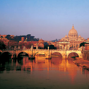 Enjoy the gorgeous views of Rome