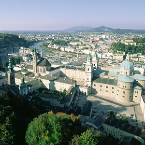 The Hohensalzburg Fortress is the largest fully preserved fortress in Europe