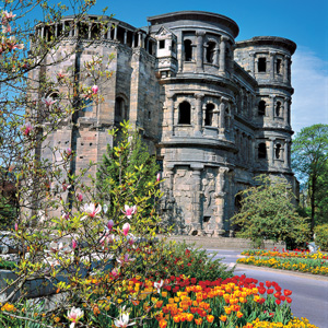 Visit the Porta Nigra in Trier, the oldest city in Germany