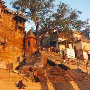 The city of Varanasi is the cultural and religious center of Northern India