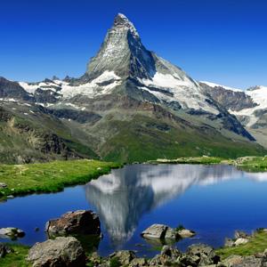 The Matterhorn in Zermatt, Switzerland