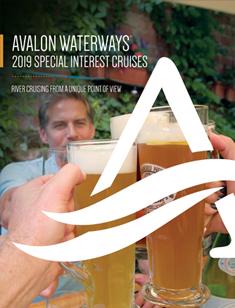 Avalon Waterways Special Interest 2019 (eBrochure)