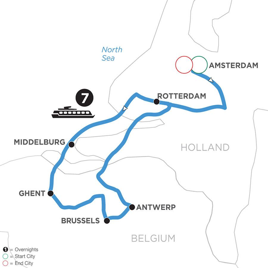 WAD 2021 Map