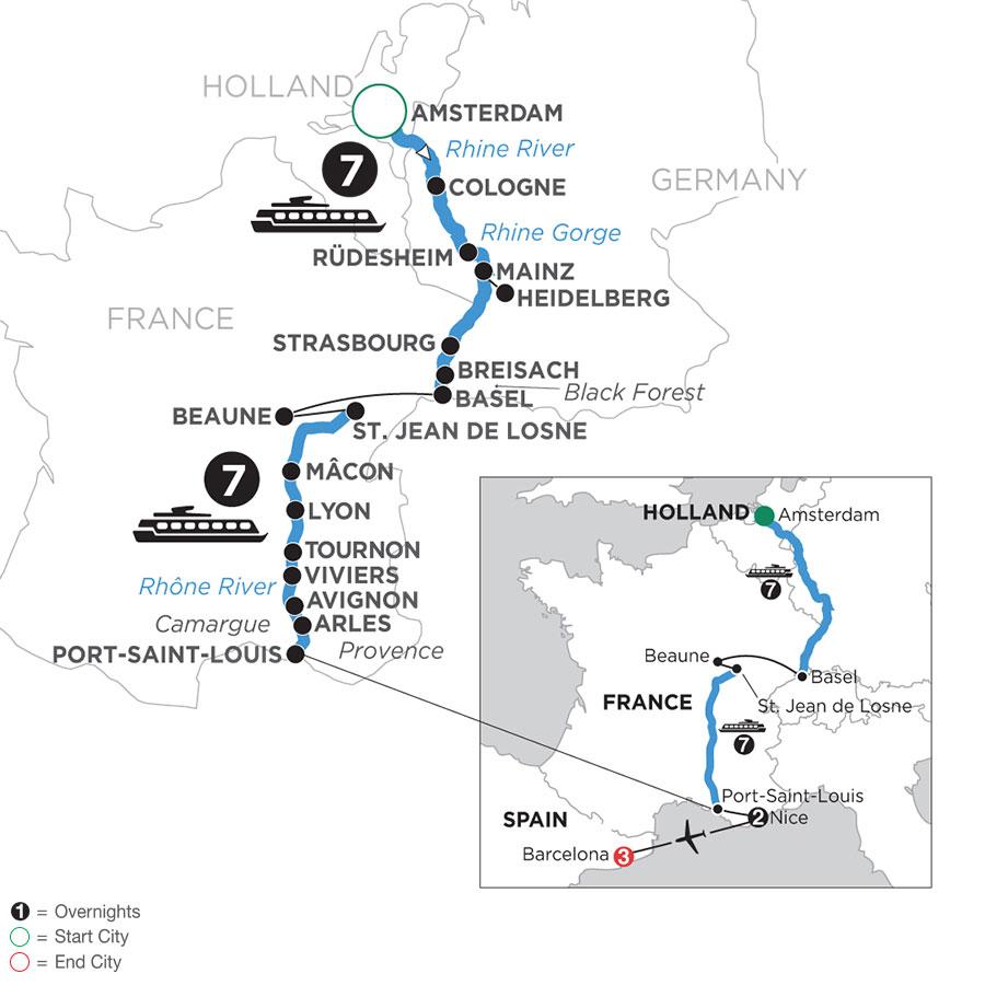 WAL2 2021 Map