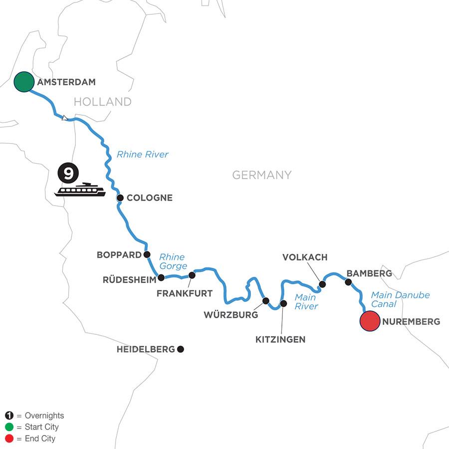 WAN 2021 Map
