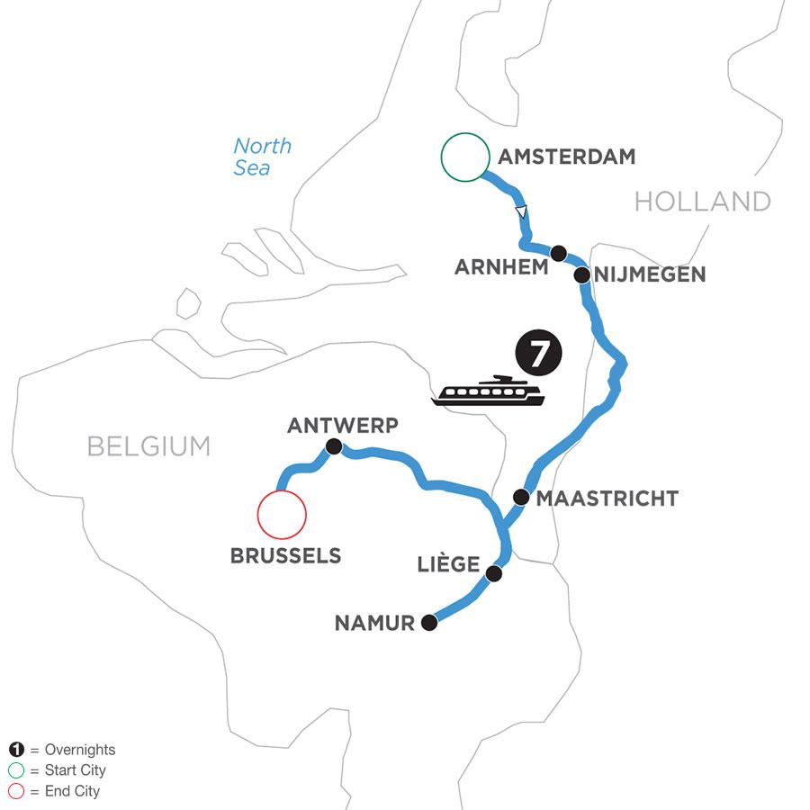 WAX 2021 Map