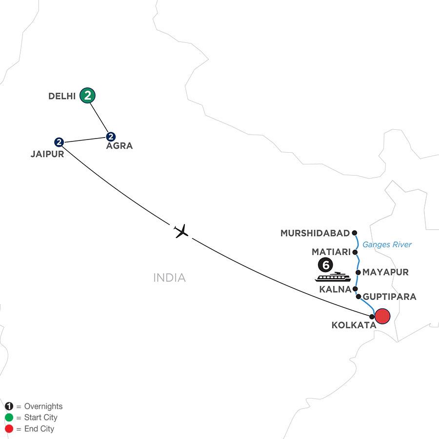 WDKI 2021 Map