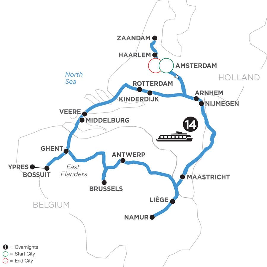 WHH 2021 Map